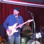 Howard Randall inspires his Monday night blues jam at Whippersnappers