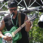 Eric Green continues Maine career playing primal blues