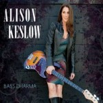 Alison Keslow struts her stuff on instrumental album Bass Dharma