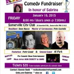 Ron Everett Band plays R.O.A.R. fundraiser January 16, 2015 at 8:30 p.m. in Somerville, MA