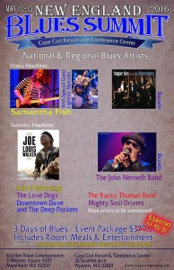 New England Blues Summit 1st Poster