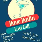Dave Bailin plays CD Release Party this Sunday, Jan 10 at Pig's Eye