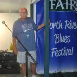 John Hall at previous North River Blues Festival